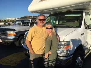 Mike And Sue With RV On Ferry To Marthas Vineyard