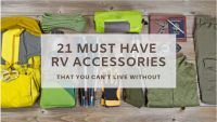 21 Must Have RV Accessories for a New Camper or Travel Trailer