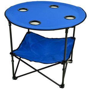 Camping Table Blue