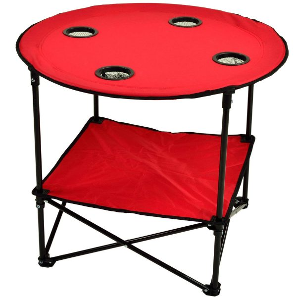 Camping Table Red