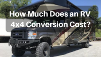 How Much Does a Class C RV 4×4 Conversion Cost?