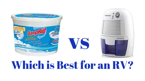 DampRid vs Dehumidifier – How to Reduce Humidity in an RV