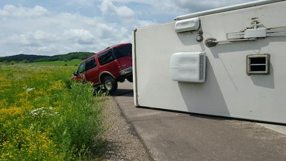 When is it Too Windy to Drive an RV?