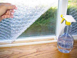 Bubble Wrap RV Window Insulation
