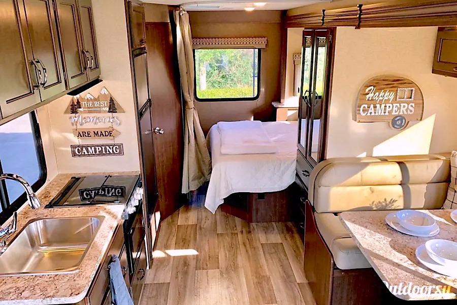10 Best RV Rentals Houston Class C Interior