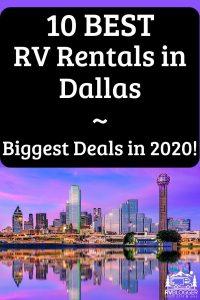 10 Best RV Rentals in Dallas Biggest Deals in 2020!