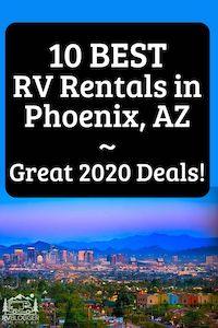 10 Best RV Rentals in Phoenix, AZ Great 2020 Deals!