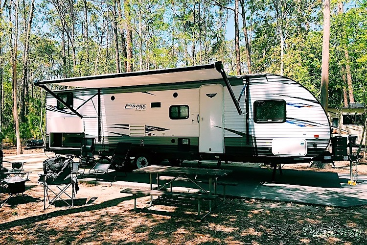 RV Rental Fort Wilderness